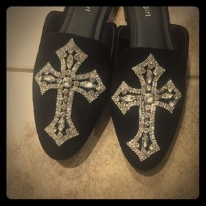 One of a kind custom jeweled slides
